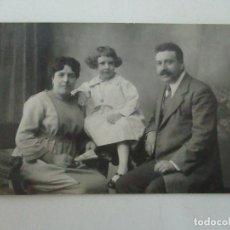 Fotografía antigua: TARJETA POSTAL - FOTO FAMILIAR - FOTÓGRAFO MARINÉ - PRINCIPIOS S. XX. Lote 120992051