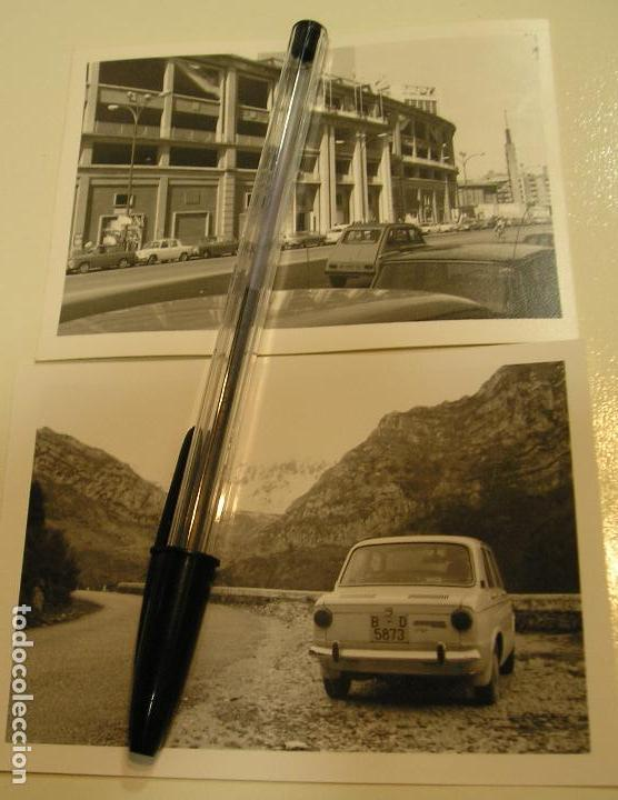 FOTO FOTOGRAFIA COCHE ANTIGUO SEAT 600 CITROEN 2 CV CABALLOS ,SEAT 1500............. AÑOS 60/70.(18) (Fotografía Antigua - Tarjeta Postal)