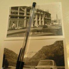 Fotografía antigua: FOTO FOTOGRAFIA COCHE ANTIGUO SEAT 600 CITROEN 2 CV CABALLOS ,SEAT 1500............. AÑOS 60/70.(18). Lote 121547735