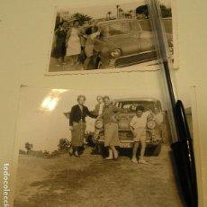 Fotografía antigua: FOTO FOTOGRAFIA COCHE ANTIGUO SEAT 600 CITROEN 2 CV CABALLOS ,SEAT 1500............. AÑOS 60/70.(18). Lote 121547787