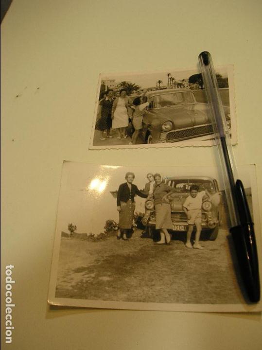 Fotografía antigua: foto fotografia coche antiguo seat 600 citroen 2 cv caballos ,seat 1500............. AÑOS 60/70.(18) - Foto 2 - 121547787