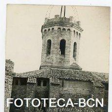 Fotografía antigua: FOTO ORIGINAL TREMP IGLESIA BASILICA MARE DE DEU DE VALLDEFLORS AÑO 1959. Lote 121707311