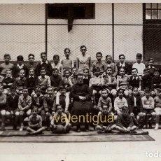 Fotografía antigua: PRECIOSA FOTO POSTAL GRUPO DE ALUMNOS COLEGIO CORAZÓN DE MARÍA, SAN SEBASTIAN. PHOTO CARTE 40S CM. Lote 122005647