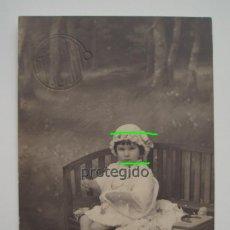 Fotografía antigua: RETRATO DE CONSUELITO. FOTO ESTUDIO. FOTÓGRAFOS. CARTAGENA, MURCIA.. Lote 122656783