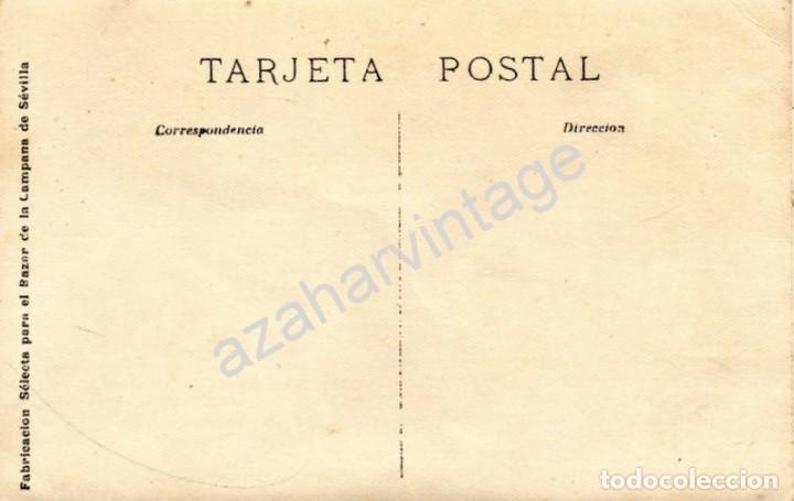 Fotografía antigua: SEVILLA, 1917, FERIA DE ABRIL, EL PIANISTA ARTHUR RUBINSTEIN EN LA CASETA DEL ATENEO, TOP RARA - Foto 2 - 122946059