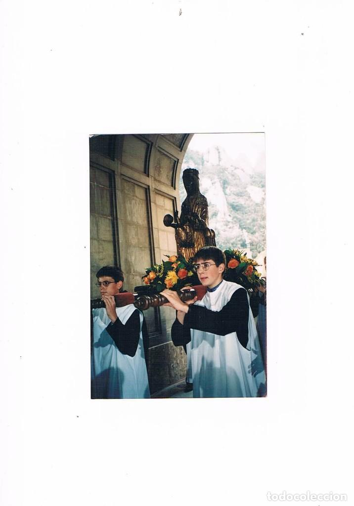 FOTOGRAFIA ANTIGUA 50 ANIVERSARIO ENTRONIZACION MADRE DE DEU DE MONTSERRAT (Fotografía Antigua - Tarjeta Postal)