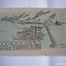 Fotografía antigua: POSTALES CARTAGENA. Lote 123739167