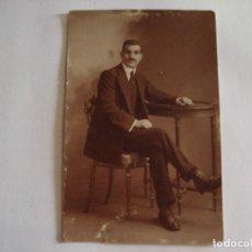Fotografía antigua: ANTIGUA TARJETA POSTAL 1917 FOTO EPOCA DEDICADA A LA NOVIA. Lote 124264851