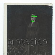Fotografía antigua: RETRATO DE ANCIANA. DÑA. MERCEDES. ZARAGOZA. FOTÓGRAFO DESCONOCIDO. BDLL. Lote 125014523