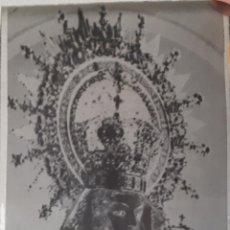Fotografía antigua: ANTIGUO CLICHÉ DE NUESTRA SEÑORA DE LA CORONADA VILLAFRANCA DE LOS BARROS BADAJOZ NEGATIVO CRISTAL. Lote 125243707