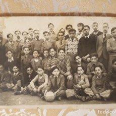 Fotografía antigua: NIÑOS ESCOLAR ANTIGUA CARTA POSTAL. Lote 125468071