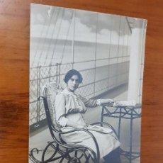 Fotografía antigua: ANTIGUA FOTOGRAFIA TARJETA POSTAL A. DARBLADE TORREVIEJA ALICANTE. Lote 126400695