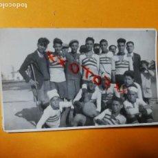 Fotografía antigua: ANTIGUA FOTOGRAFÍA POSTAL. CLUB DEPORTIVO PROGRESO. CABANYAL. VALENCIA. FÚTBOL.. Lote 127504347