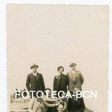 Fotografía antigua: FOTO ORIGINAL POSIBLEMENTE ESCULLERA DE VALENCIA AÑOS 40 - LABORATORIO CASA MANERO. Lote 127840127