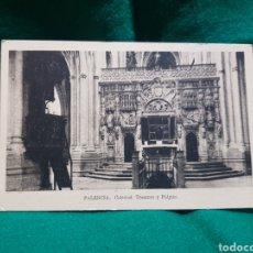 Fotografía antigua: POSTAL CATEDRAL DE PALENCIA EDICIONES ARRIBAS SIN CIRCULAR. Lote 128909768