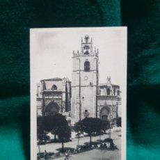 Fotografía antigua: POSTAL CATEDRAL DE PALENCIA SIN CIRCULAR EDICIONES ARRIBAS. Lote 128910086