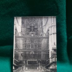 Fotografía antigua: POSTAL DEL ALTAR MAYOR DE LA CATEDRAL DE PALENCIA SIN CIRCULAR. Lote 128910182