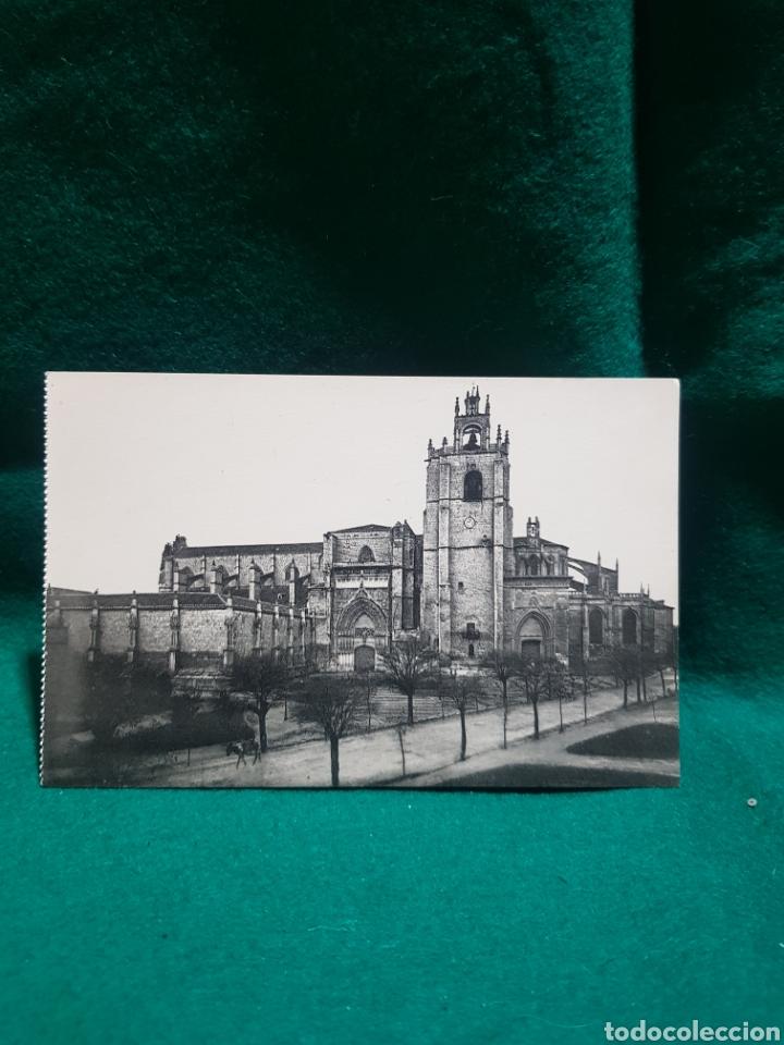 ANTIGUA POSTAL DE LA CATEDRAL DE PALENCIA SIN CIRCULAR (Fotografía Antigua - Tarjeta Postal)