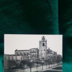 Fotografía antigua: ANTIGUA POSTAL DE LA CATEDRAL DE PALENCIA SIN CIRCULAR. Lote 128910328