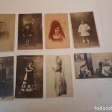Fotografía antigua: ESTUDIOS FOTOGRÁFICOS, MADRID, CABRA, SEVILLA, ANTEQUERA, BILBAO, HUELVA.. Lote 129590267