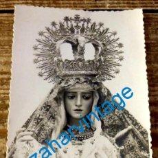 Fotografía antigua: SEMANA SANTA SEVILLA O PROVINCIA,1943, POSTAL FOTOGRAFICA VIRGEN A IDENTIFICAR. Lote 129652583