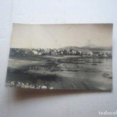 Fotografia antiga: CORRUBEDO -PLAYA DEL PRADO CON VISTAS AL PUEBLO.. Lote 130303862