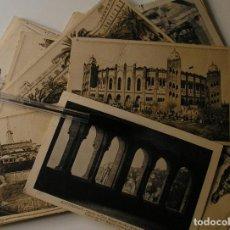Fotografía antigua: LOTE 45 POSTALES DE BARCELONA AÑOS 40 CIRCULADAS FOTOS DE TODAS LAS POSTALES. Lote 130479494