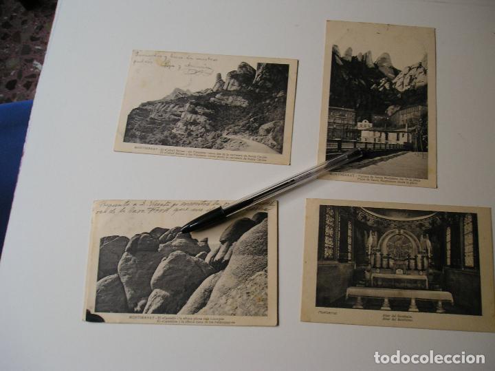 Fotografía antigua: LOTE 45 POSTALES DE BARCELONA AÑOS 40 CIRCULADAS FOTOS DE TODAS LAS POSTALES - Foto 2 - 130479494