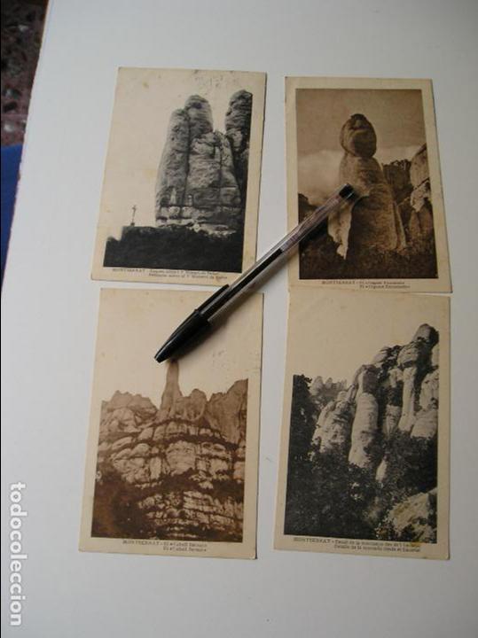 Fotografía antigua: LOTE 45 POSTALES DE BARCELONA AÑOS 40 CIRCULADAS FOTOS DE TODAS LAS POSTALES - Foto 3 - 130479494