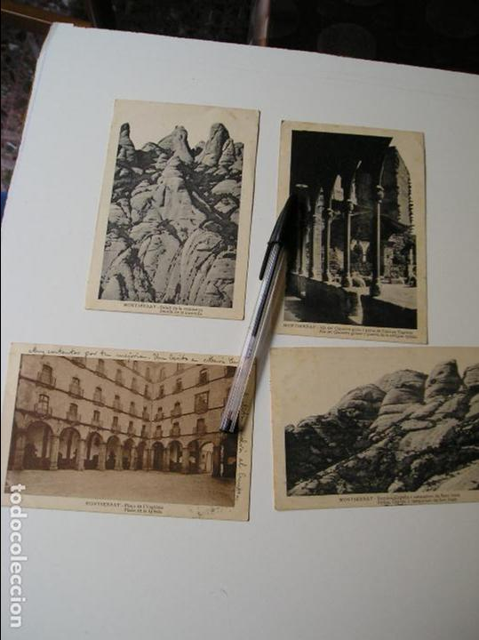 Fotografía antigua: LOTE 45 POSTALES DE BARCELONA AÑOS 40 CIRCULADAS FOTOS DE TODAS LAS POSTALES - Foto 4 - 130479494