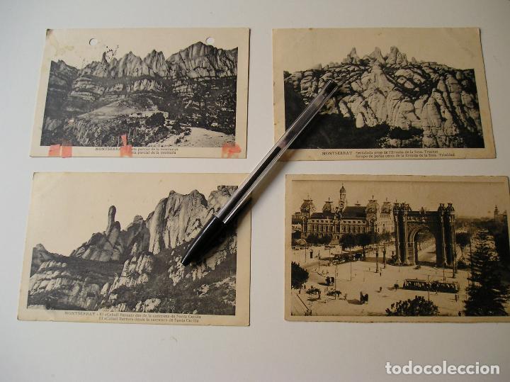 Fotografía antigua: LOTE 45 POSTALES DE BARCELONA AÑOS 40 CIRCULADAS FOTOS DE TODAS LAS POSTALES - Foto 5 - 130479494