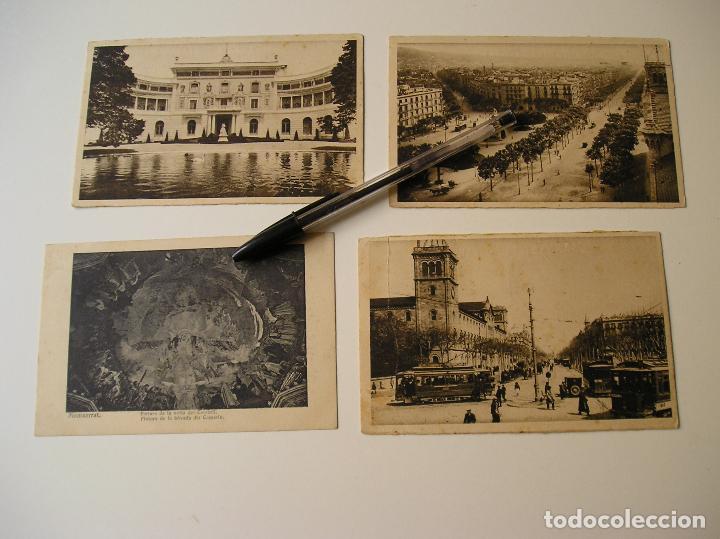 Fotografía antigua: LOTE 45 POSTALES DE BARCELONA AÑOS 40 CIRCULADAS FOTOS DE TODAS LAS POSTALES - Foto 6 - 130479494