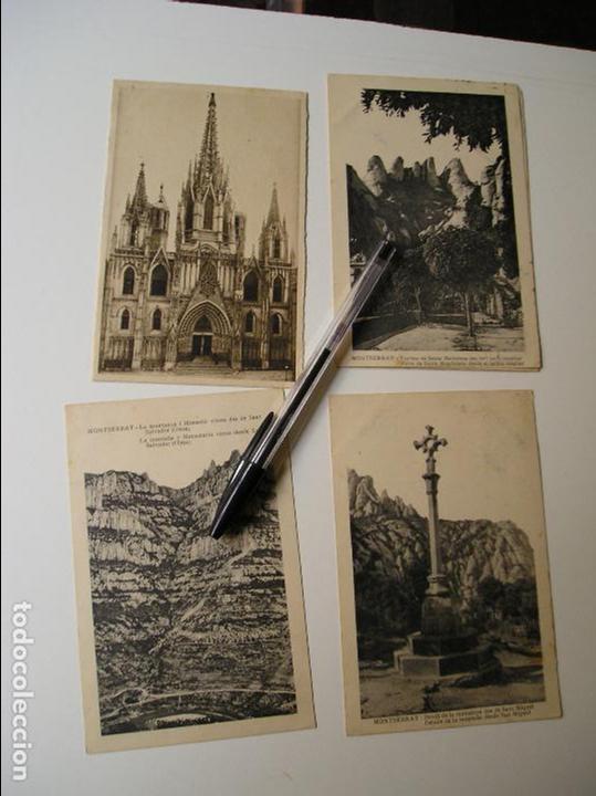 Fotografía antigua: LOTE 45 POSTALES DE BARCELONA AÑOS 40 CIRCULADAS FOTOS DE TODAS LAS POSTALES - Foto 7 - 130479494