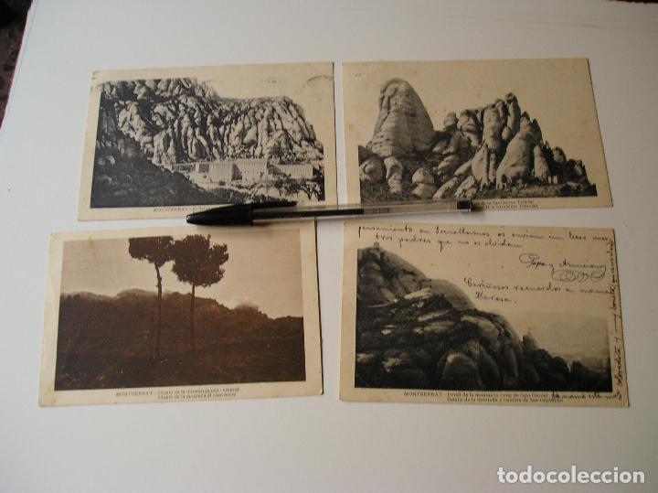 Fotografía antigua: LOTE 45 POSTALES DE BARCELONA AÑOS 40 CIRCULADAS FOTOS DE TODAS LAS POSTALES - Foto 8 - 130479494