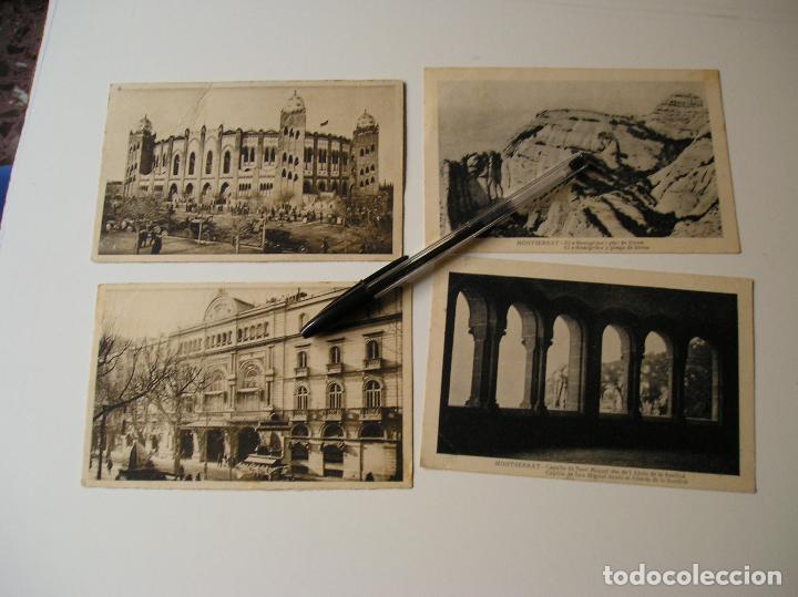 Fotografía antigua: LOTE 45 POSTALES DE BARCELONA AÑOS 40 CIRCULADAS FOTOS DE TODAS LAS POSTALES - Foto 9 - 130479494