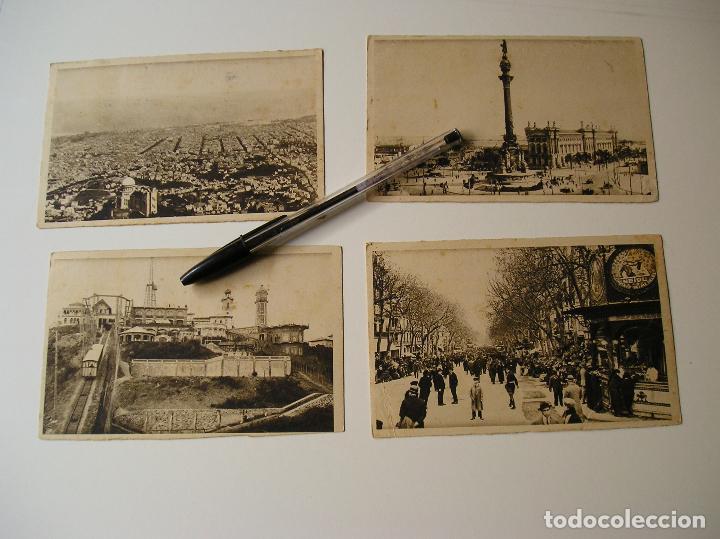 Fotografía antigua: LOTE 45 POSTALES DE BARCELONA AÑOS 40 CIRCULADAS FOTOS DE TODAS LAS POSTALES - Foto 10 - 130479494