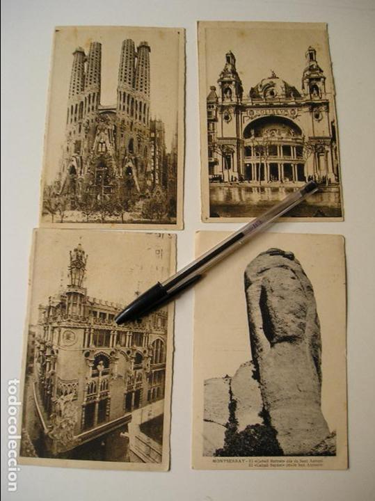 Fotografía antigua: LOTE 45 POSTALES DE BARCELONA AÑOS 40 CIRCULADAS FOTOS DE TODAS LAS POSTALES - Foto 11 - 130479494