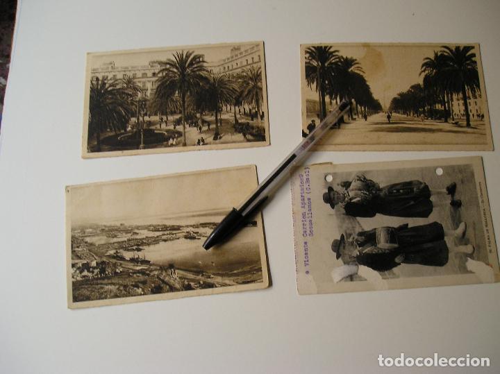 Fotografía antigua: LOTE 45 POSTALES DE BARCELONA AÑOS 40 CIRCULADAS FOTOS DE TODAS LAS POSTALES - Foto 12 - 130479494