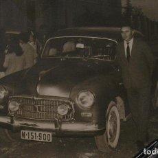 Fotografía antigua: FOTO FOTOGRAFIA COCHE ANTIGUO AÑOS 60 (18). Lote 131683770