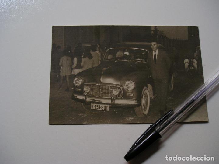 Fotografía antigua: FOTO FOTOGRAFIA COCHE ANTIGUO AÑOS 60 (18) - Foto 3 - 131683770