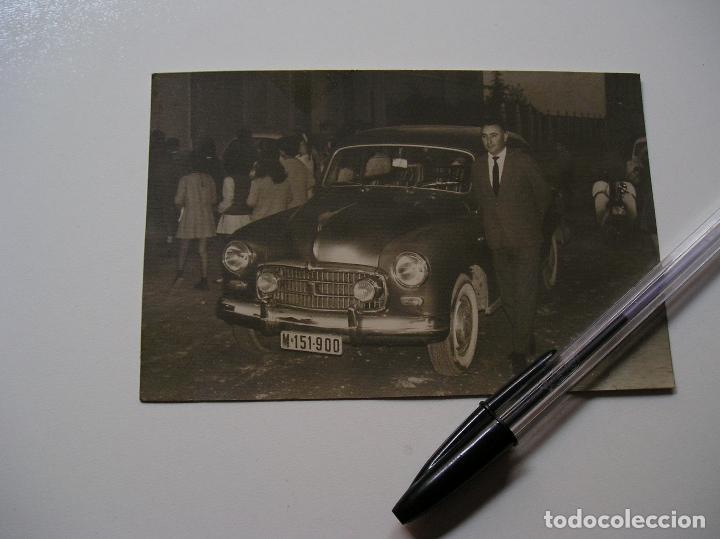 Fotografía antigua: FOTO FOTOGRAFIA COCHE ANTIGUO AÑOS 60 (18) - Foto 4 - 131683770