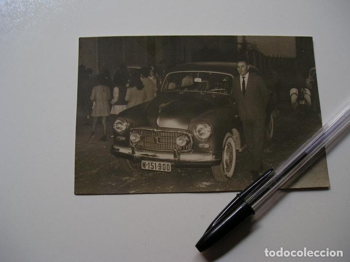 Fotografía antigua: FOTO FOTOGRAFIA COCHE ANTIGUO AÑOS 60 (18) - Foto 5 - 131683770
