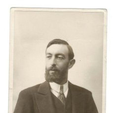 Fotografía antigua: RETRATO DEL GANADERO SALMANTINO RAFAEL LAMAMIÉ DE CLAIRAC.. Lote 131695498
