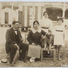 Fotografía antigua: TARJETA POSTAL. UNIÓN POSTALE UNIVERSALLE ESPAÑA. ESCENA FAMILIAR. SIN CIRCULAR. Lote 131979122