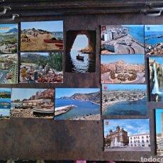 Fotografía antigua: 15 POSTALES DE ALICANTE - DENIA - BENIDORM - JAVEA. Lote 132657975