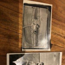 Alte Fotografie - 2 Tarjetas postales fotografía con fecha 12 de agosto 1929 - 133167595