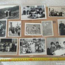 Fotografía antigua: LOTE DE 11 FOTOGRAFÍAS ANTIGUAS N.3. Lote 133207029