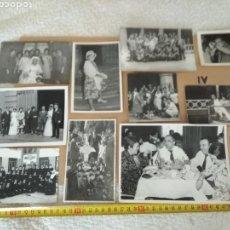 Fotografía antigua: LOTE 11 FOTOGRAFÍAS VARIADAS N.4. Lote 133207763