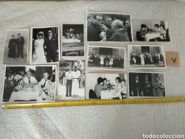 LOTE DE 11 FOTOGRAFÍAS ANTIGUAS N.5 (Fotografía Antigua - Tarjeta Postal)