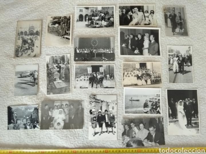 LOTE DE 18 FOTOGRAFÍAS ANTIGUAS SIN CLASIFICAR N.6 (Fotografía Antigua - Tarjeta Postal)